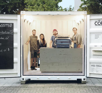 ELA Container - Pop-up Café Düsseldorf